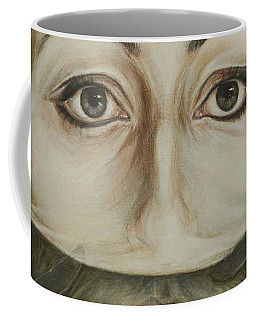 Strip Coffee Mug by Yvonne Wright