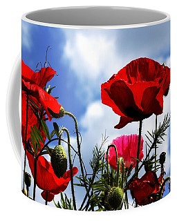 The Summer Poppy Coffee Mug