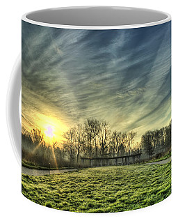 The Sun Shines Through Coffee Mug