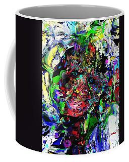 Coffee Mug featuring the digital art The Thinker by David Lane