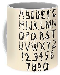 The Three Delevines Satanic Gambols Human Alphabet. The Three Delevines Were An 1897 Music Hall Coffee Mug