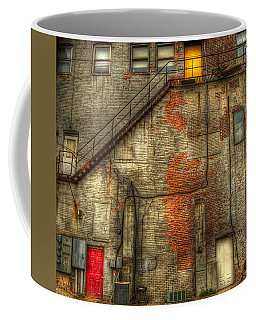 The Three Doors Coffee Mug