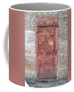 The Three Heart Door. Coffee Mug