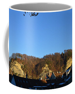 Coffee Mug featuring the photograph The Three Stones From Burgdorf by Felicia Tica