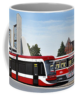 The Toronto Streetcar 100 Years Coffee Mug by Kenneth M  Kirsch