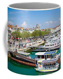 The Town And Port Of La Rochelle Coffee Mug