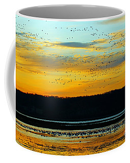 The Travelers  Coffee Mug by Elizabeth Winter
