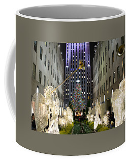 The Tree At Rockefeller Center Coffee Mug by Kenneth Cole