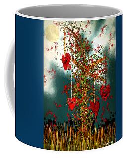 The Tree Of Hearts Coffee Mug