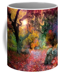The Tree Where I Used To Live Coffee Mug by Tara Turner