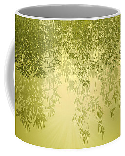 Coffee Mug featuring the photograph The Trees First Light by Holly Kempe