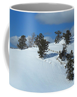 Coffee Mug featuring the photograph The Trees Take A Snow Day by Michele Myers