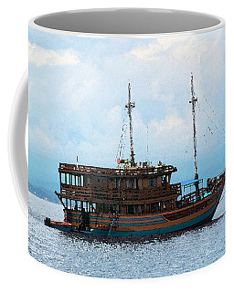 Coffee Mug featuring the photograph The Trip To Bunaken by Sergey Lukashin