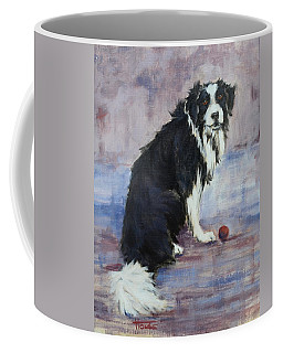 Coffee Mug featuring the painting The Twilight Years by Cynthia House