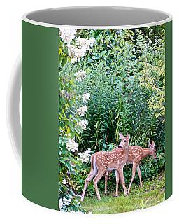 The Twins On The Move Coffee Mug