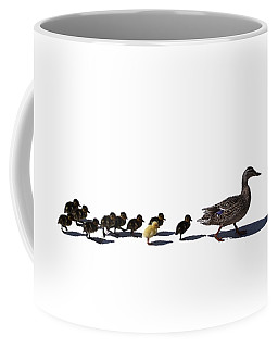 Coffee Mug featuring the photograph The Ugly Duckling  by Lars Lentz