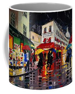 The Umbrellas Of Montmartre Coffee Mug