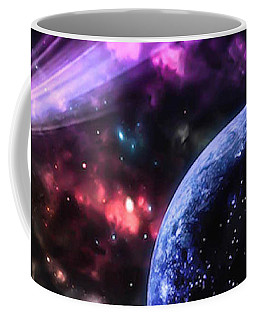 The Undiscovered Planet  Coffee Mug by Naomi Burgess