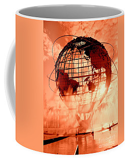 The Unisphere And Fountains Coffee Mug