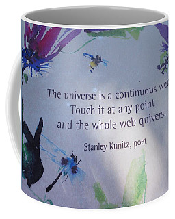 The Universe Coffee Mug by Kay Gilley