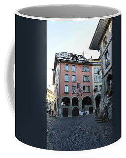 Coffee Mug featuring the photograph The Upper Town by Felicia Tica