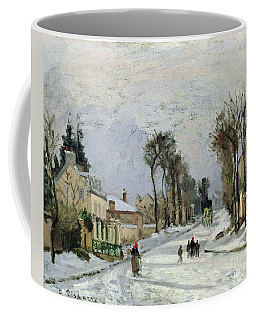 The Versailles Road At Louveciennes Coffee Mug
