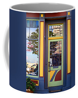 Coffee Mug featuring the photograph The Victorian Diner by Rick Locke