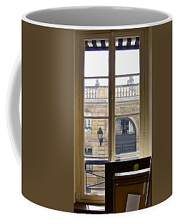 Coffee Mug featuring the photograph The View From Across The Way by Ira Shander