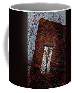 Coffee Mug featuring the photograph The View From Here by Beth Sawickie