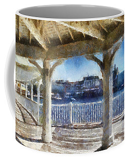 The View From The Boardwalk Gazebo Wdw 02 Photo Art Coffee Mug by Thomas Woolworth