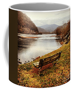 The View Coffee Mug by Kerri Farley