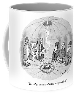 The Village Wants To Add Some Younger Elders Coffee Mug