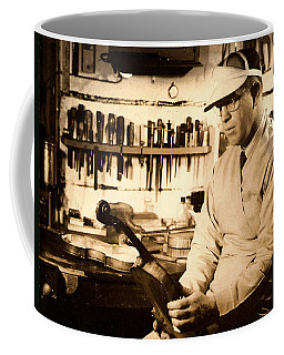 The Violin Maker Coffee Mug