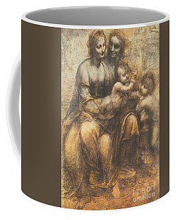 The Virgin And Child With Saint Anne And The Infant Saint John The Baptist Coffee Mug