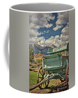 The Wagon Coffee Mug by Peggy Hughes