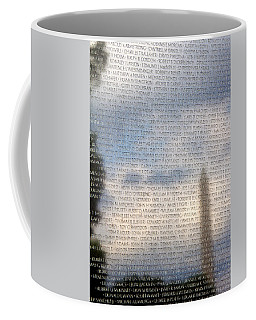Coffee Mug featuring the photograph The Wall by Jemmy Archer