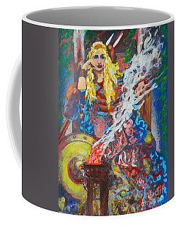 The Warrior Queen Coffee Mug by Alys Caviness-Gober
