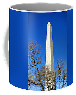 The Washington Monument And The Big Old Tree On The National Mall Coffee Mug