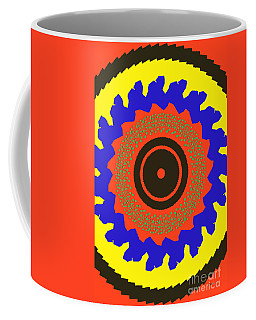 The Watcher Coffee Mug by Claudia Ellis