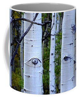 The Watcher Coffee Mug by Lanita Williams