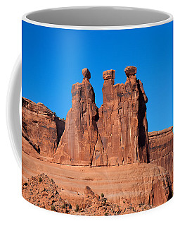Coffee Mug featuring the photograph The Watchers by John M Bailey