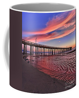 Coffee Mug featuring the photograph The Water Flows Red by Beth Sargent