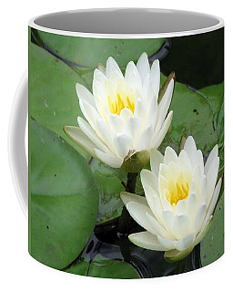 Coffee Mug featuring the photograph The Water Lilies Collection - 08 by Pamela Critchlow