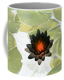 Coffee Mug featuring the photograph The Water Lilies Collection - Photopower 1034 by Pamela Critchlow