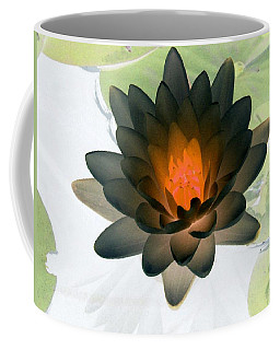 Coffee Mug featuring the photograph The Water Lilies Collection - Photopower 1035 by Pamela Critchlow