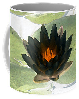 Coffee Mug featuring the photograph The Water Lilies Collection - Photopower 1037 by Pamela Critchlow
