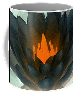 Coffee Mug featuring the photograph The Water Lilies Collection - Photopower 1038 by Pamela Critchlow