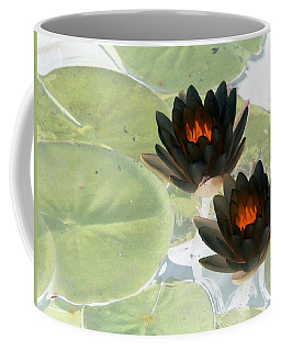 Coffee Mug featuring the photograph The Water Lilies Collection - Photopower 1039 by Pamela Critchlow
