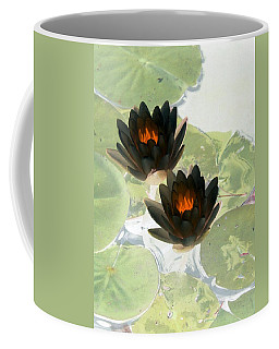 Coffee Mug featuring the photograph The Water Lilies Collection - Photopower 1040 by Pamela Critchlow