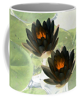 Coffee Mug featuring the photograph The Water Lilies Collection - Photopower 1041 by Pamela Critchlow
